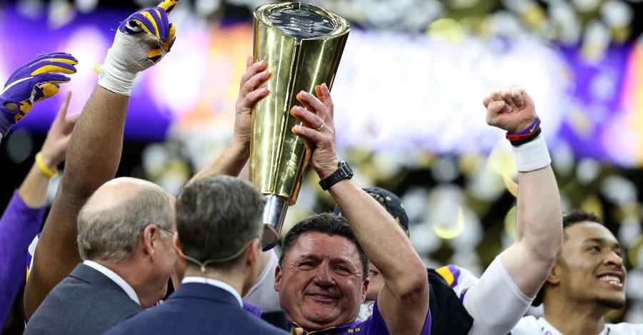 The Faith of LSU Coach Ed Orgeron: Two Keys to Using Fame Well