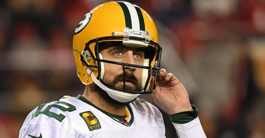 NFL Quarterback Aaron Rodgers Questions How Anyone Could Believe in God
