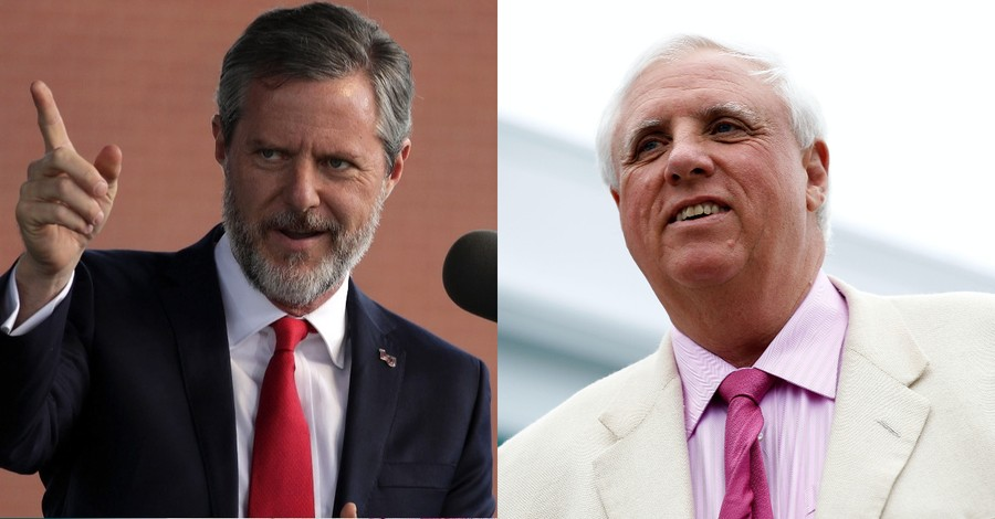 Jerry Falwell Jr., W.Va. Governor Invite Discontent Virginians to Secede, Join West Virginia