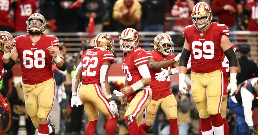 49ers Studied Biblical Themes of Hope and Trust During Season, Chaplain Says