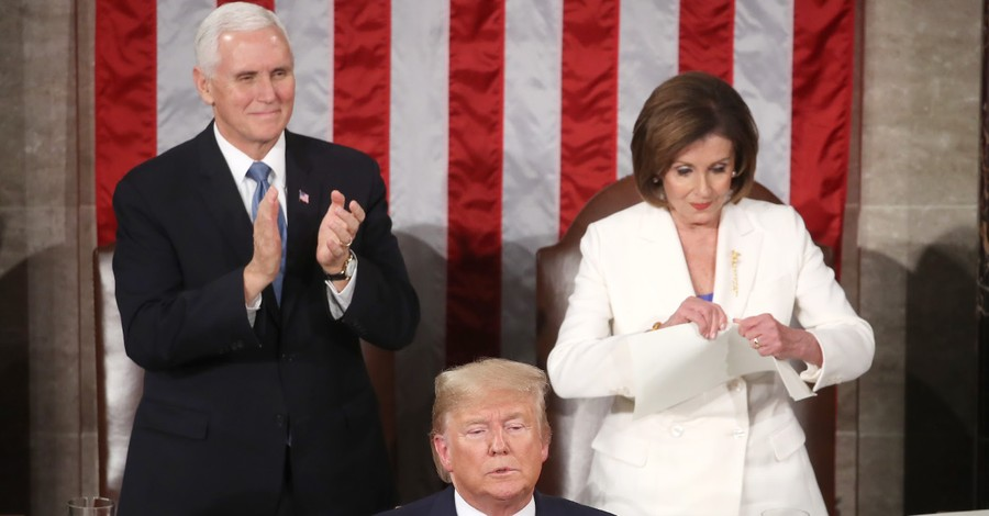 Speaker Pelosi Tears Up the President's Speech: Three Biblical Responses to the Divisions in Our Nation