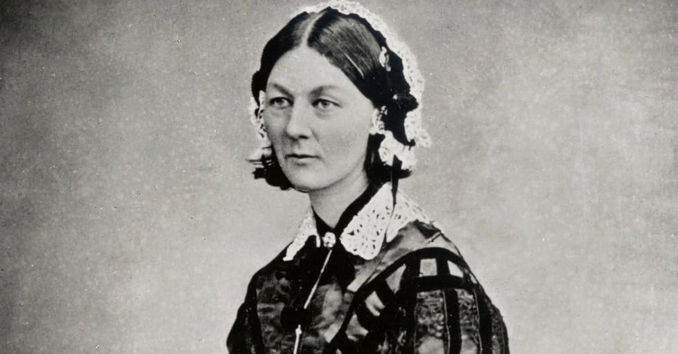 1. Florence Nightingale