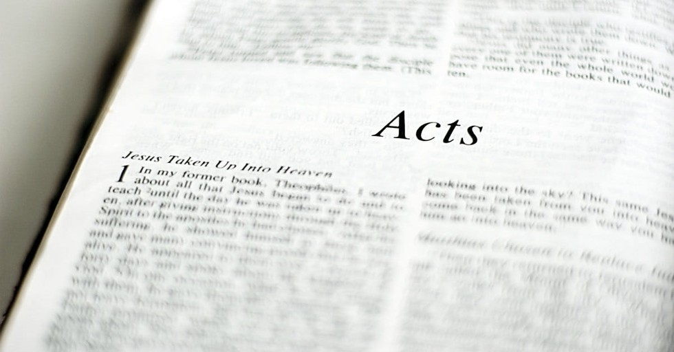 How to Study the Book of Acts: 4 Practical Tips