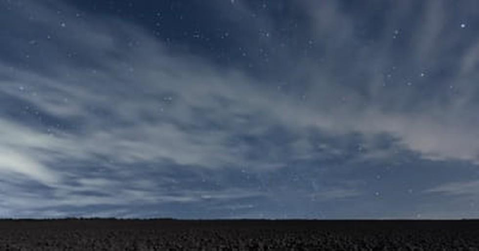 hermoso cielo lleno de nubes