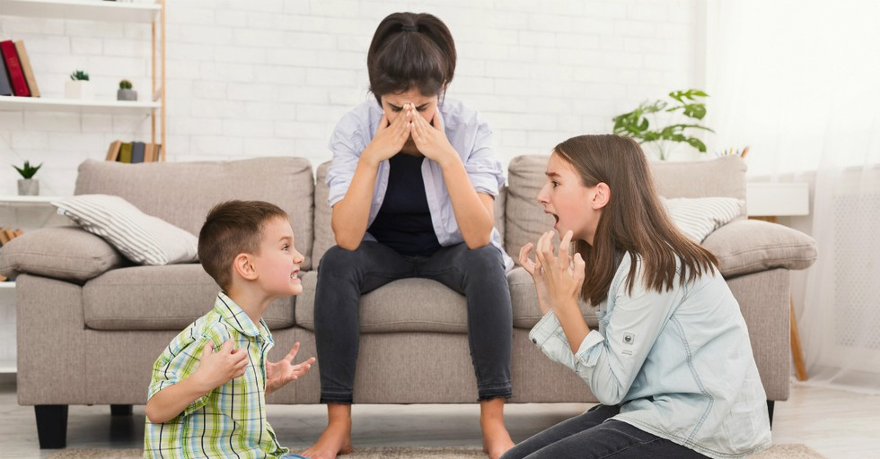 4 Things to Do When Your Kids Won't Stop Fighting